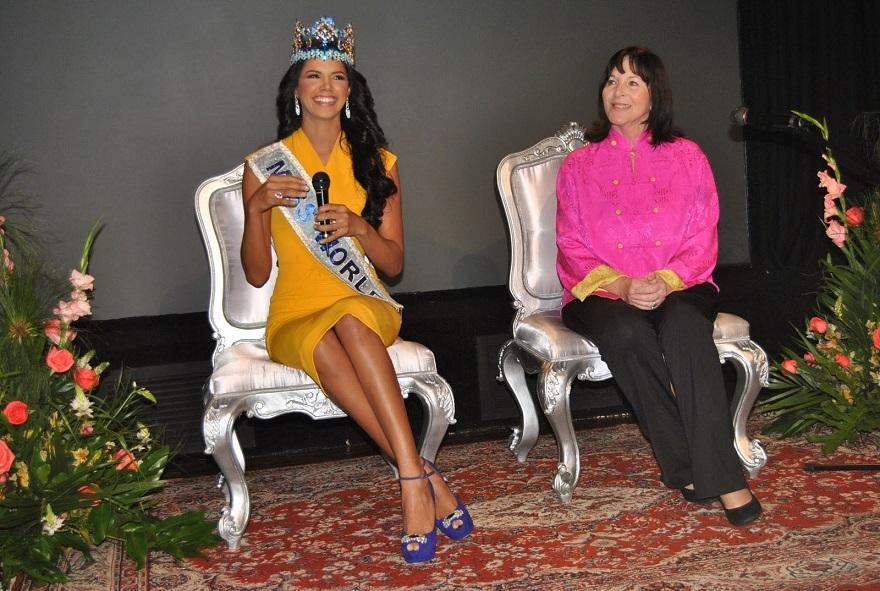 """Ivian Sarcos, sería la directora de la franquicia del """"Miss Mundo"""" en Venezuela desde el 2014."""